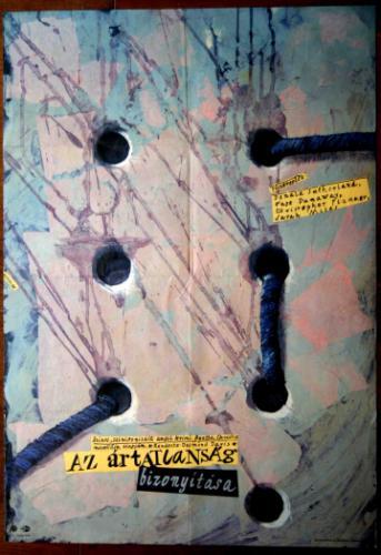 Az ártatlanság bizonyítása filmplakát