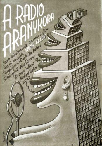 A rádió aranykora filmplakát
