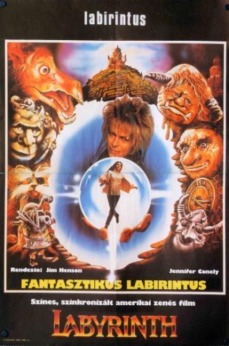 Fantasztikus labirintus filmplakát