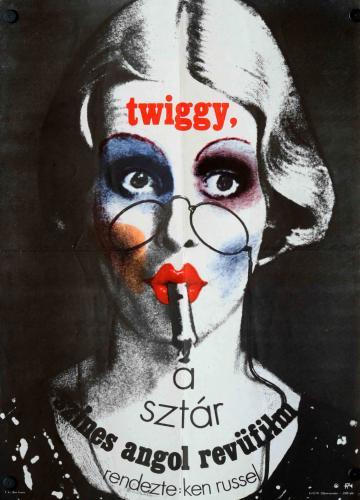 Twiggy, a sztár filmplakát