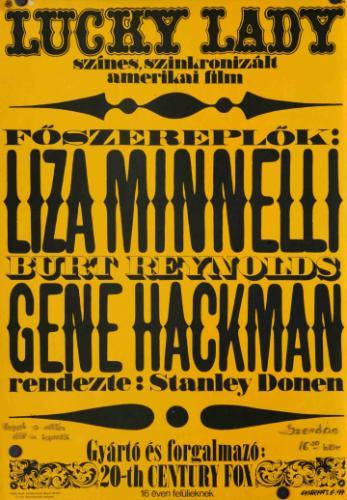 Lucky Lady filmplakát