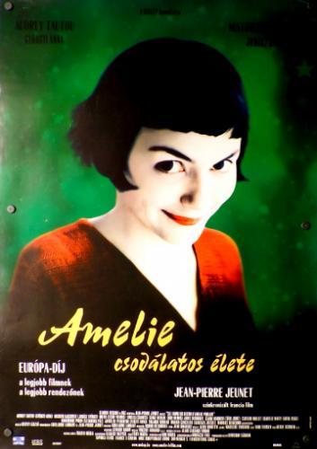 Amelie csodálatos élete movie poster