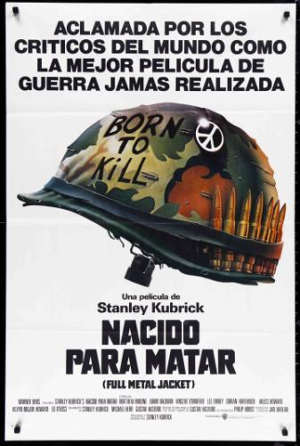 Acéllövedék filmplakát