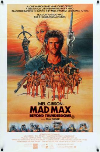 Mad Max 3. filmplakát