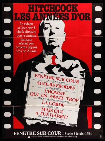 Hitchcock fesztivál filmplakát