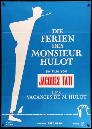 Hulot úr nyaral filmplakát