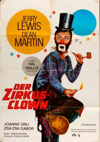 A cirkusz bolondjai filmplakát