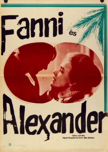 Fanni és Alexander filmplakát
