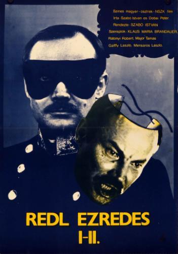 Redl ezredes filmplakát