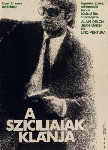 A Sziciliaiak klánja filmplakát