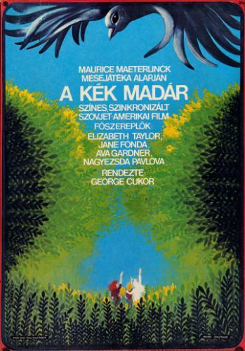 A kék madár filmplakát