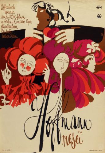 Hoffmann meséi filmplakát