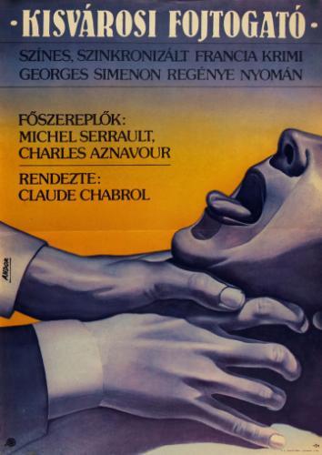 Kisvárosi fojtogató filmplakát