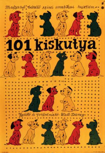 101 kiskutya filmplakát