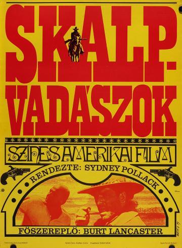Skalpvadászok filmplakát