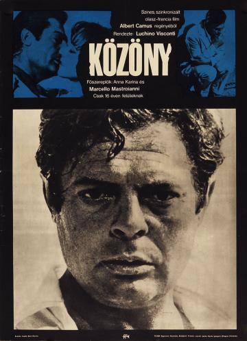 Közöny filmplakát