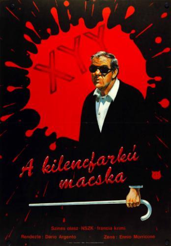 A kilencfarkú macska filmplakát