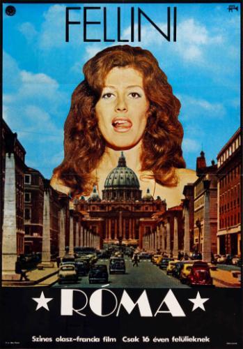 Fellini : Róma filmplakát