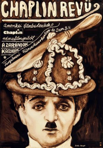 Chaplin revü filmplakát