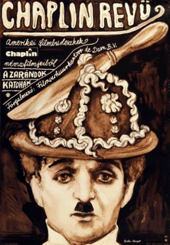 Chaplin revű filmplakát