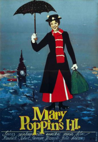 Mary Poppins filmplakát