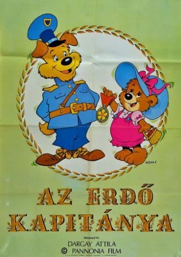 Az erdő kapitánya filmplakát