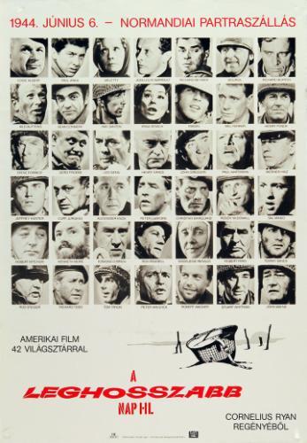 A leghosszabb nap filmplakát
