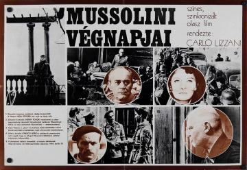 Mussolini végnapjai filmplakát