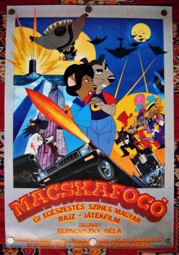 Macskafogó filmplakát