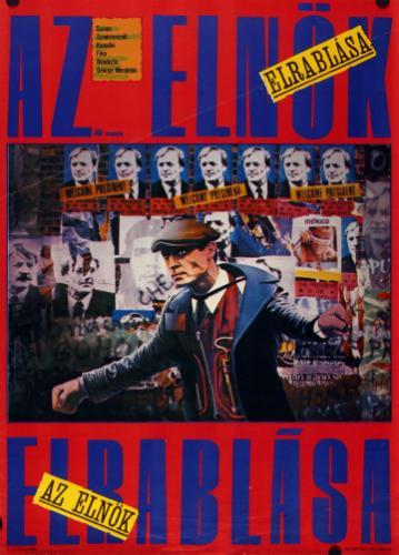 Az elnök elrablása filmplakát