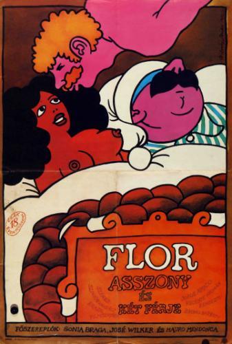 Flór asszony és két férje filmplakát