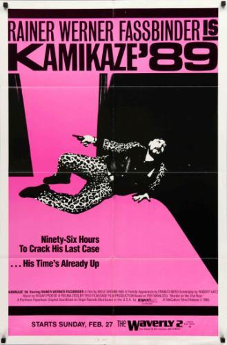 Kamikaze 89 filmplakát