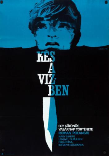 Kés a vízben movie poster