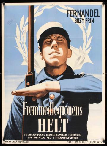 A légióban  filmplakát
