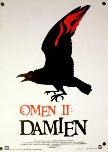 Omen 2.: Damien filmplakát