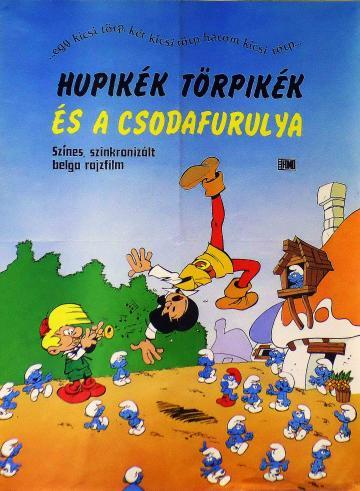 Hupikék törpikék és a csodafurulya filmplakát