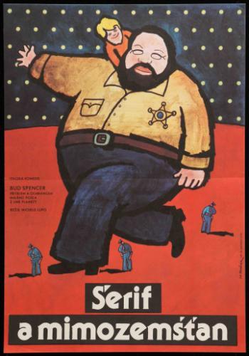 A seriff és az idegenek filmplakát