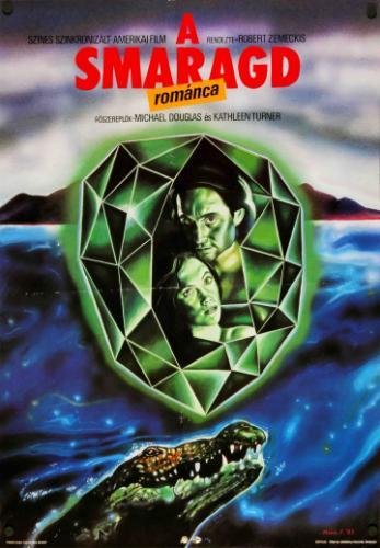 A smaragd románca movie poster