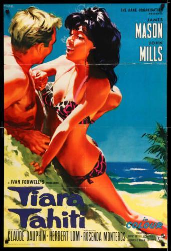 Tiara Tahiti filmplakát