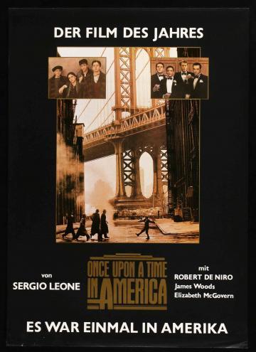 Volt egyszer egy Amerika movie poster